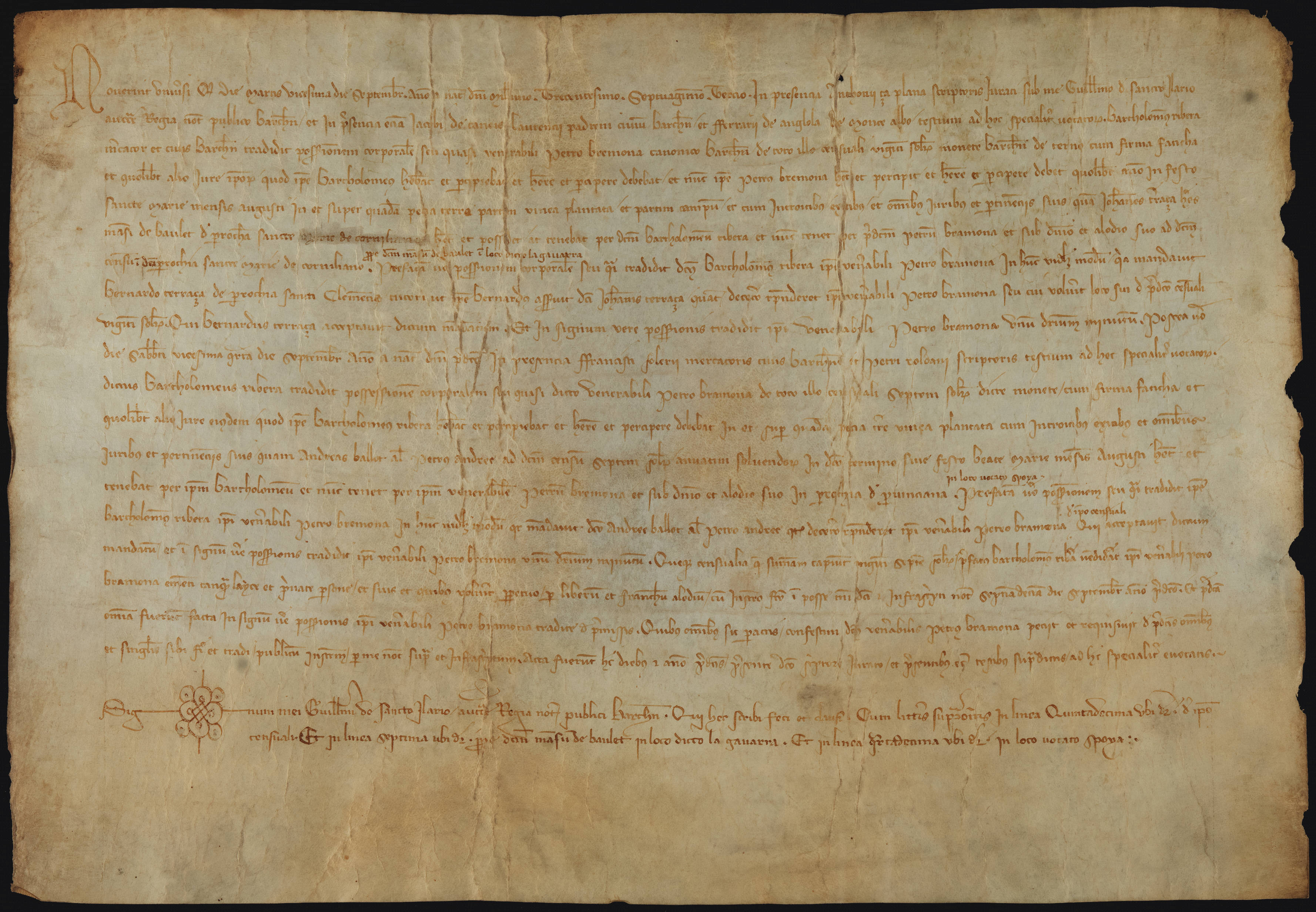 Recto 1373 Bartomeu Ribera