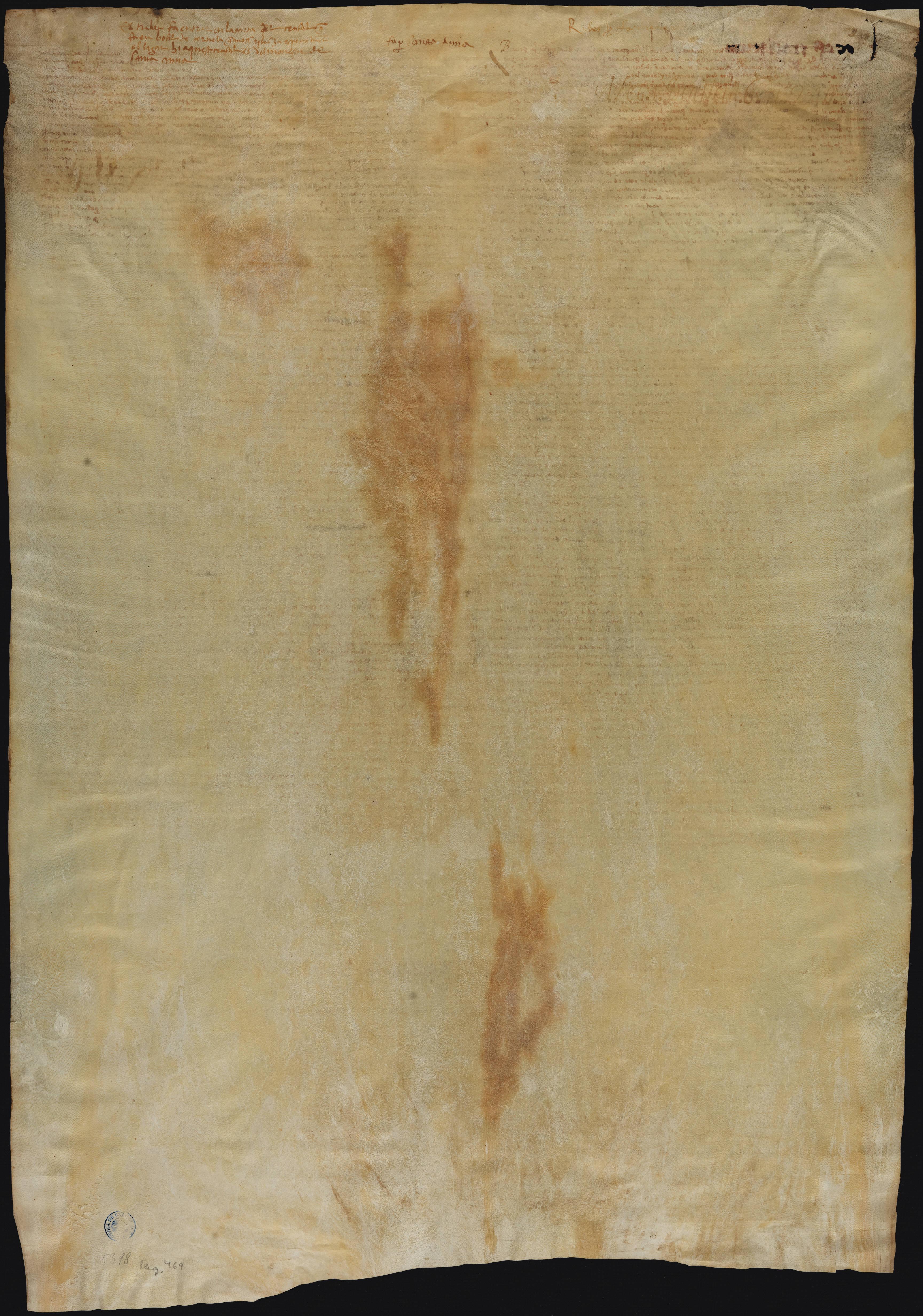Verso 1515 Francesc de Ribes