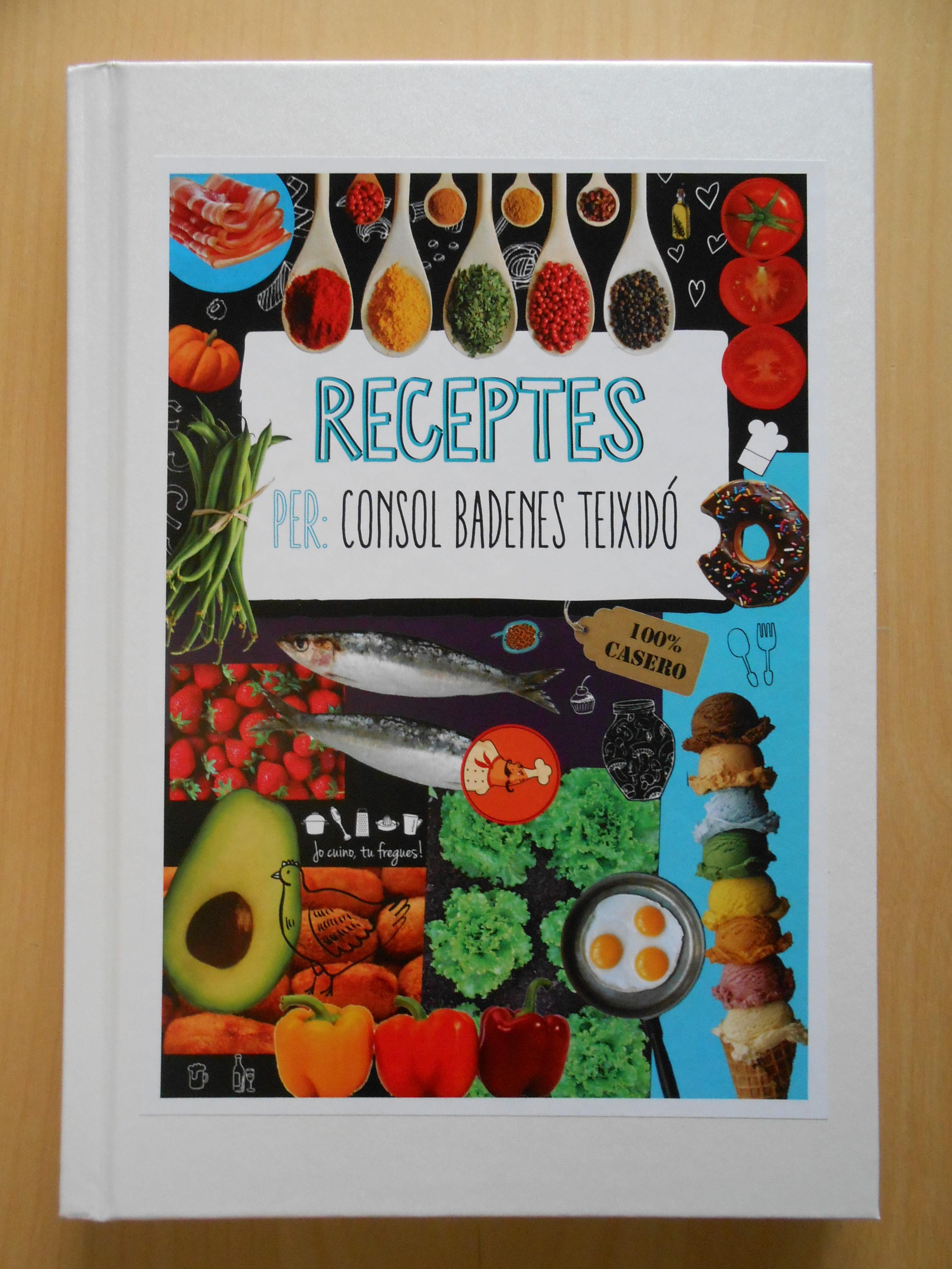Llibre receptes